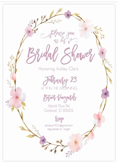 Wedding Shower Invitations Template Inspirational 13 Bridal Shower Templates that You Won T Believe are Free