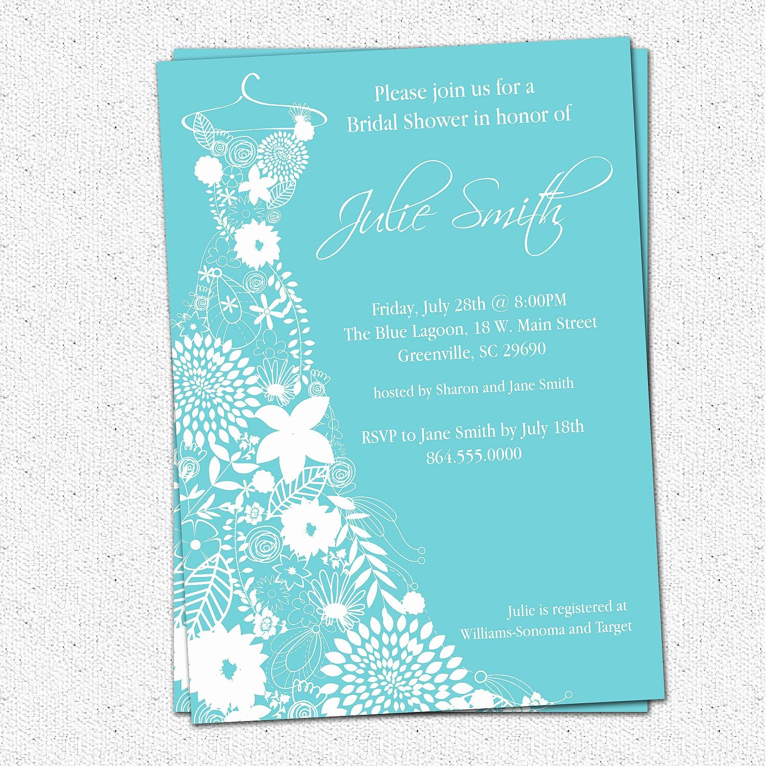 Wedding Shower Invitations Template Inspirational Bridal Shower Invitation Bridal Shower Invitations