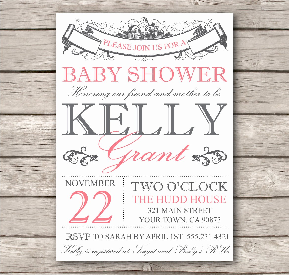 Wedding Shower Invitations Template Luxury Bridal Shower Invitation or Baby Shower Invitation by