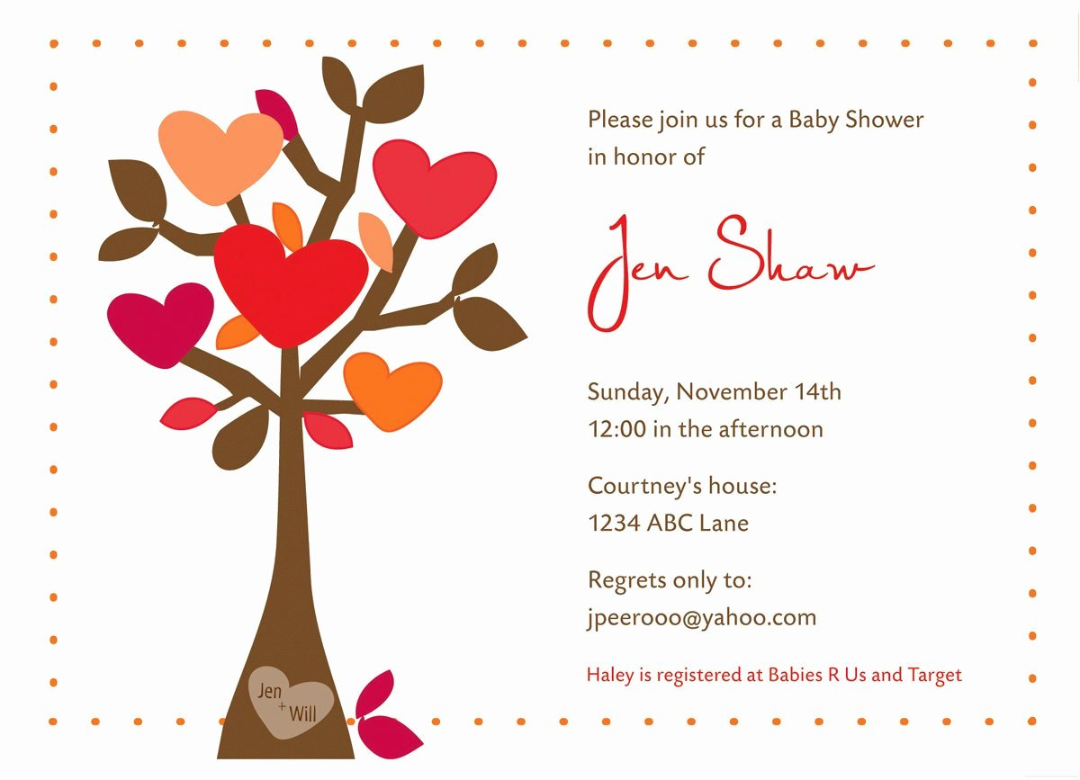 Wedding Shower Invitations Template Unique Fall Bridal Shower Invites Template Design Diy Printing
