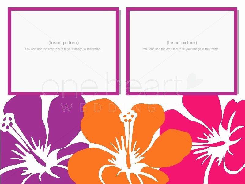Wedding Slideshow Template Powerpoint New Hawaiian Powerpoint Template Hawaiian Wedding Powerpoint