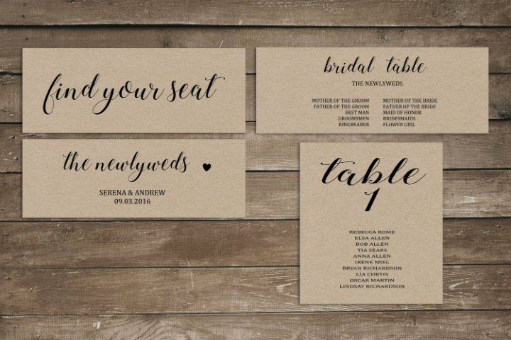 Wedding Table Card Template Awesome 21 Wedding Table Card Templates Editable Psd Indesign