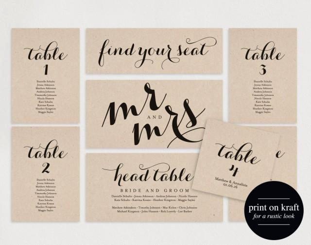 Wedding Table Card Template Beautiful Wedding Seating Chart Seating Plan Template Wedding