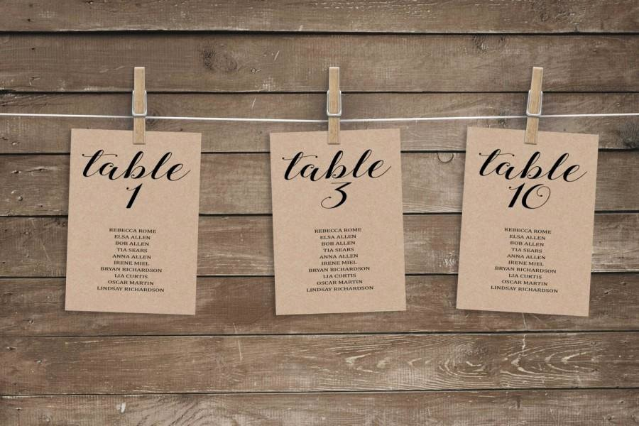 Wedding Table Card Template Best Of Wedding Seating Chart Template Wedding Seating Chart
