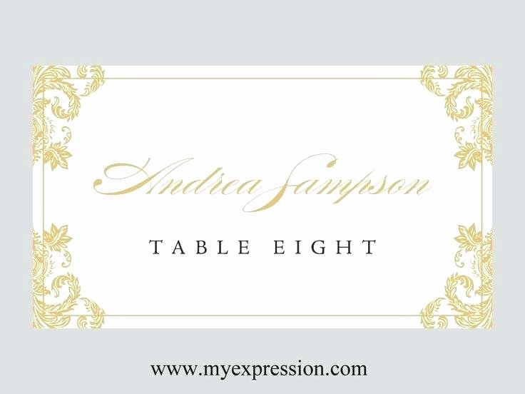 Wedding Table Card Template Elegant Wedding Table Cards Template