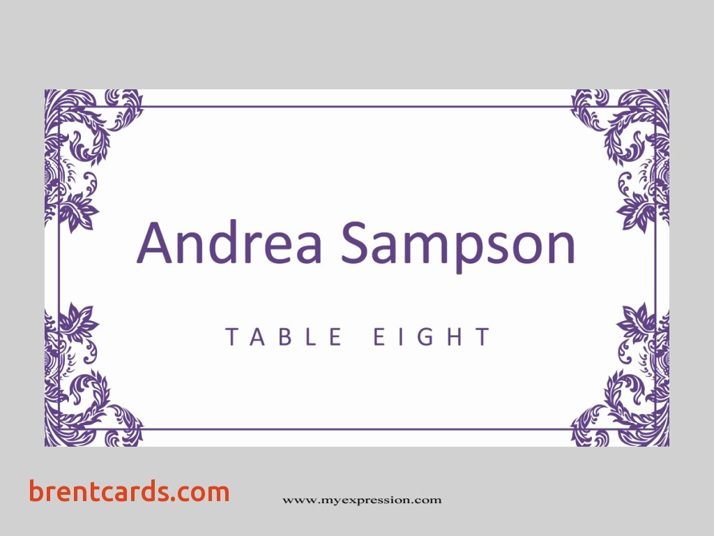 Wedding Table Cards Template Awesome Table Name Template Avery Name Plate Template Name Tent