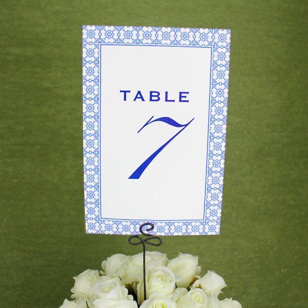 Wedding Table Number Template Awesome Printable Reception Table Number Template – Download & Print