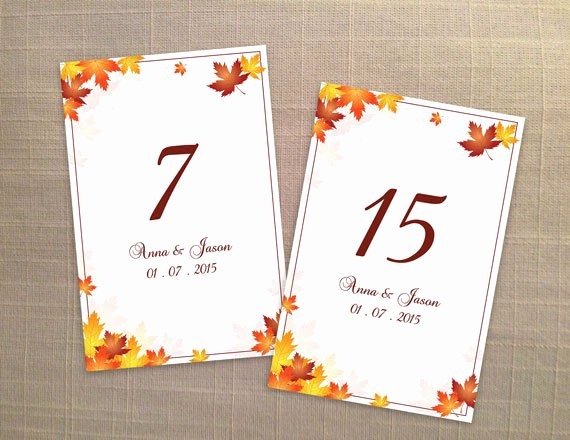 Wedding Table Number Template Fresh Diy Printable Wedding Table Number Template