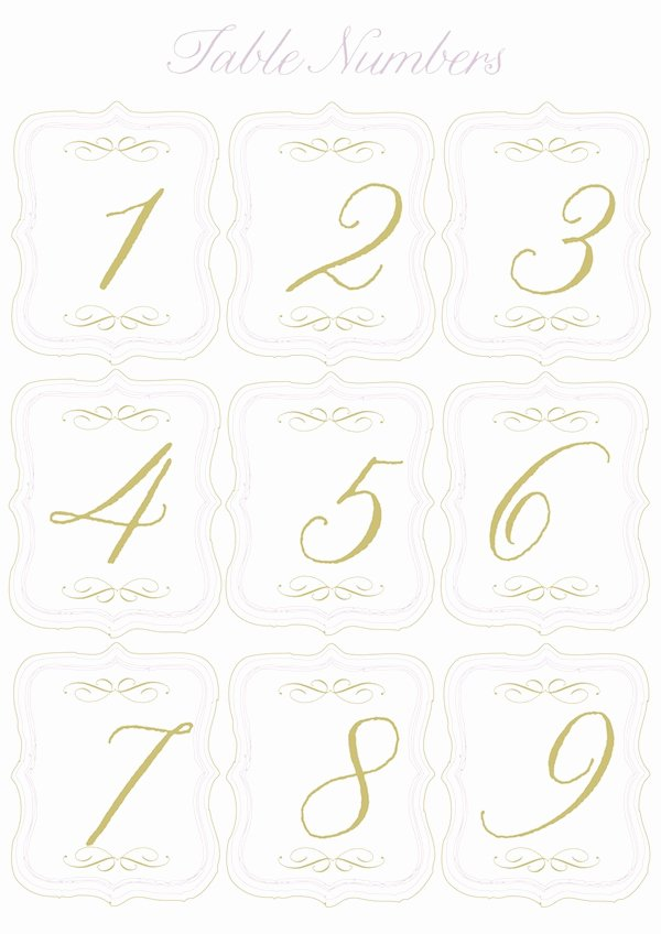 Wedding Table Number Template New 5 Best Of Round Table Numbers Printable Printable