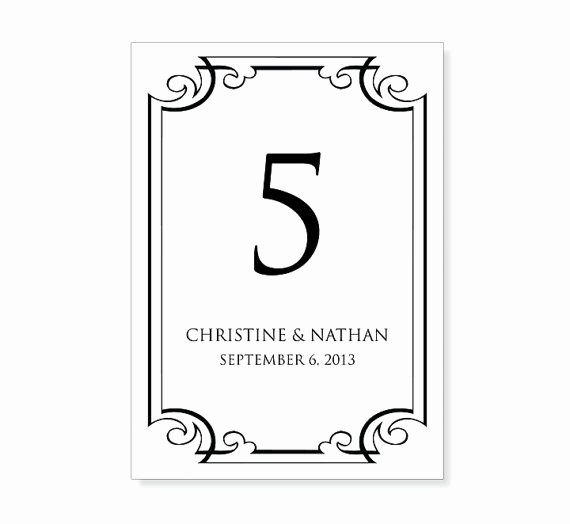 Wedding Table Numbers Template Awesome 25 Unique Number Template Printable Ideas On Pinterest
