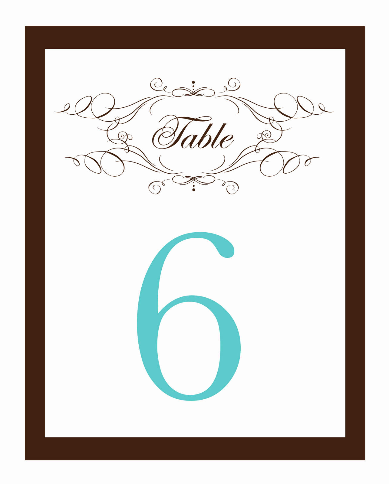 Wedding Table Numbers Template Awesome My Road to the Altar Do It Yourself Wedding Invitations