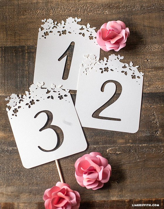 Wedding Table Numbers Template Inspirational Diy Wedding Table Numbers Lia Griffith
