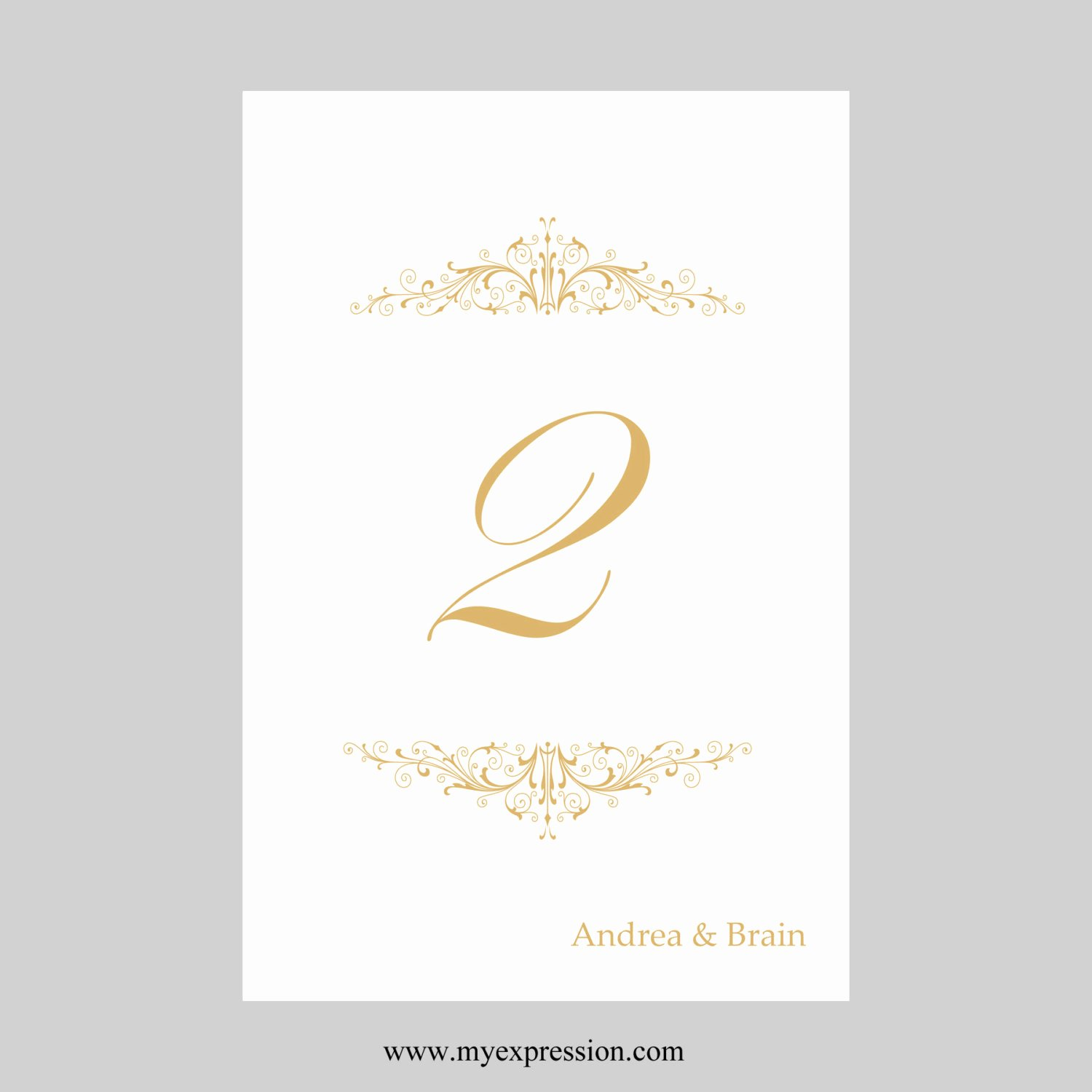 Wedding Table Numbers Template Inspirational Wedding Table Number Card Template 4x6 Flat Vintage