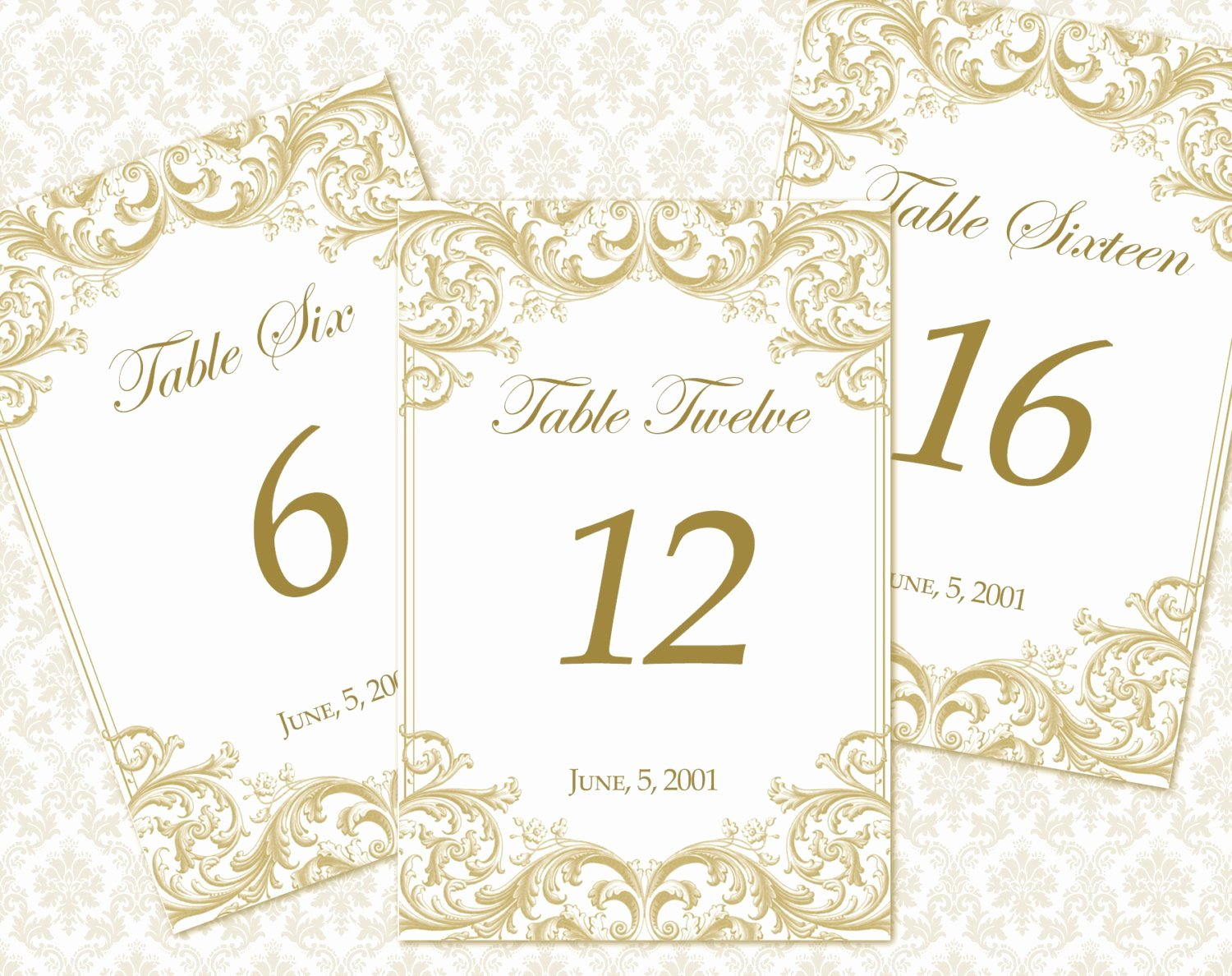 Wedding Table Numbers Template New Diy Printable Wedding Table Number Template by