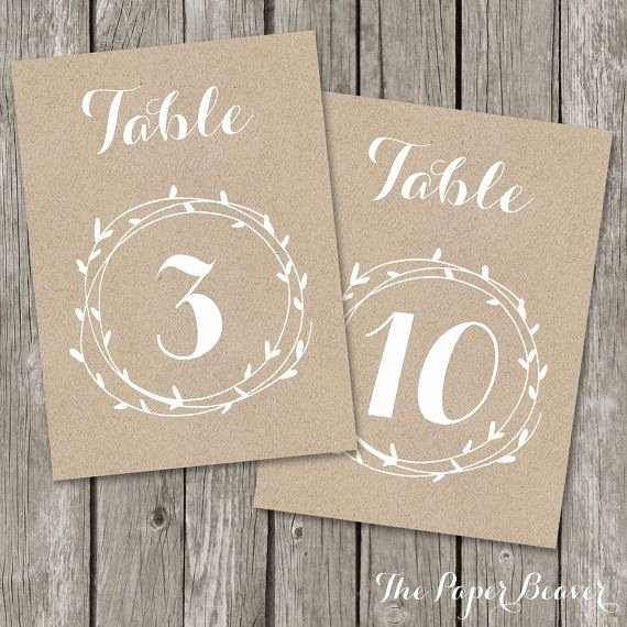 Wedding Table Numbers Template Unique 1000 Ideas About Rustic Table Numbers On Pinterest