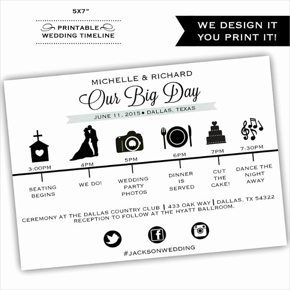 Wedding Timeline Template Free Fresh 29 Wedding Timeline Template Word Excel Pdf Psd