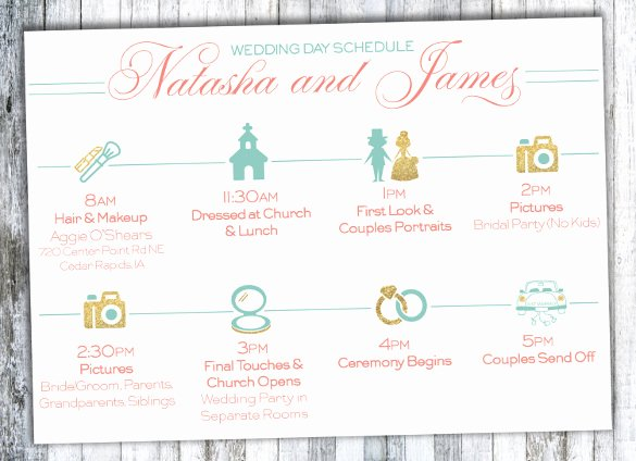 Wedding Timeline Template Free Lovely 29 Wedding Timeline Template Word Excel Pdf Psd