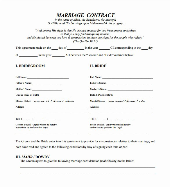 Wedding Venue Contract Template Elegant 21 Wedding Contract Samples