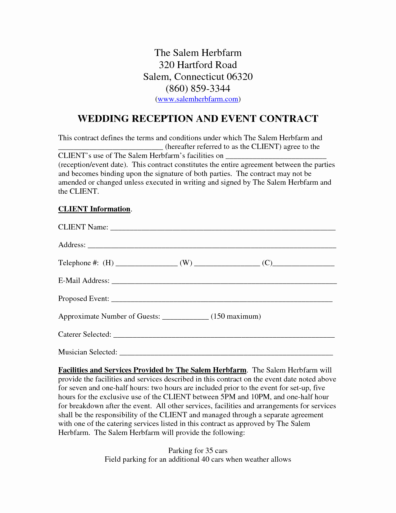 Wedding Venue Contract Template Lovely Wedding Venue Contract Template – Emmamcintyrephotography