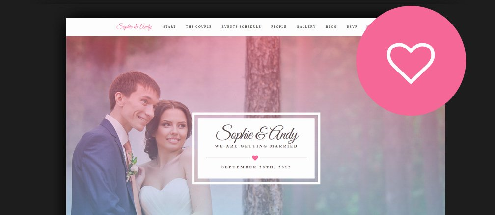 Wedding Web Template Free Awesome 60 Best HTML Wedding Website Templates 2017