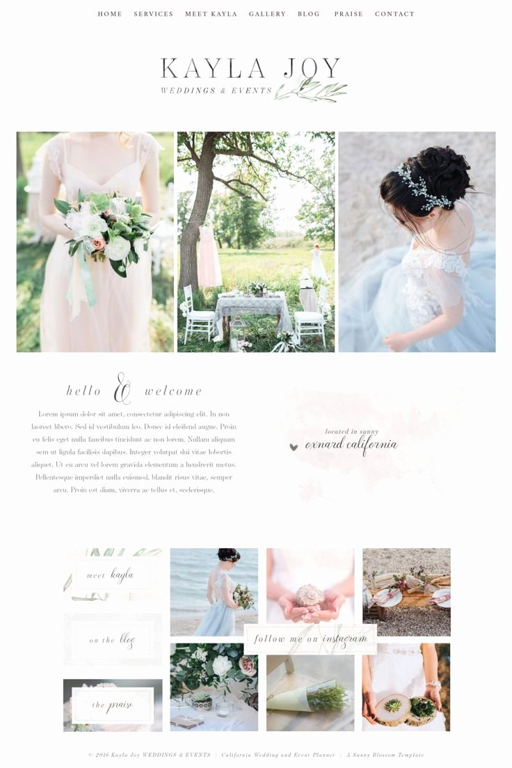Wedding Web Template Free Beautiful 17 Best Ideas About Website Template On Pinterest