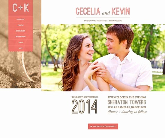 Wedding Web Template Free Best Of 70 Best Wedding Website Templates Free & Premium