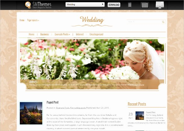 Wedding Web Template Free Elegant 18 Free Wedding Website themes & Templates
