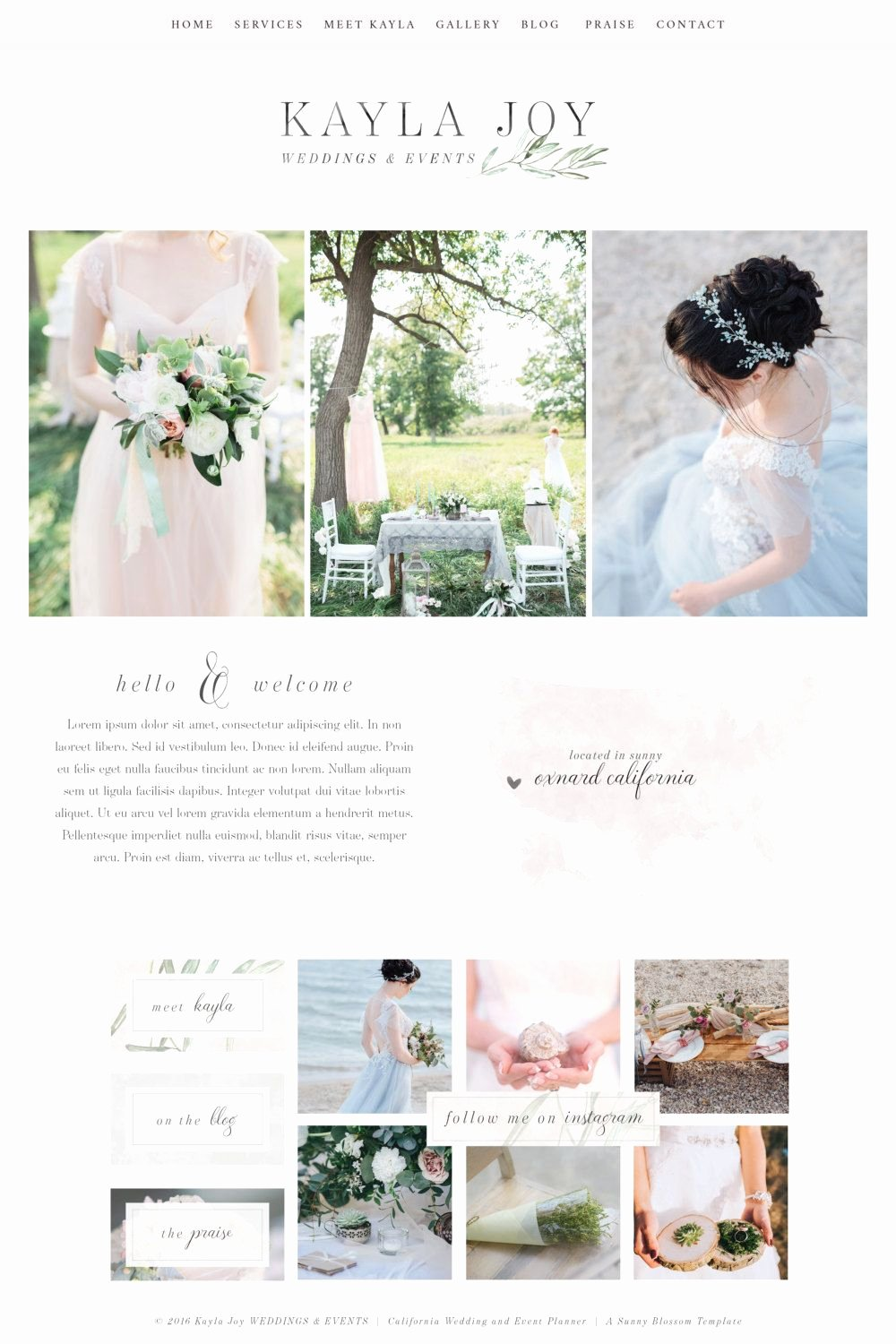 Wedding Web Template Free Elegant Website Design Wix Template Logo Design Editable