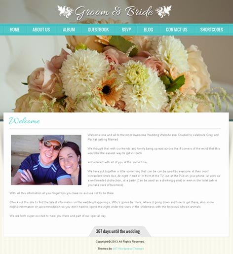 Wedding Web Template Free Inspirational Free and Paid Wedding Website Reviews Skt themes