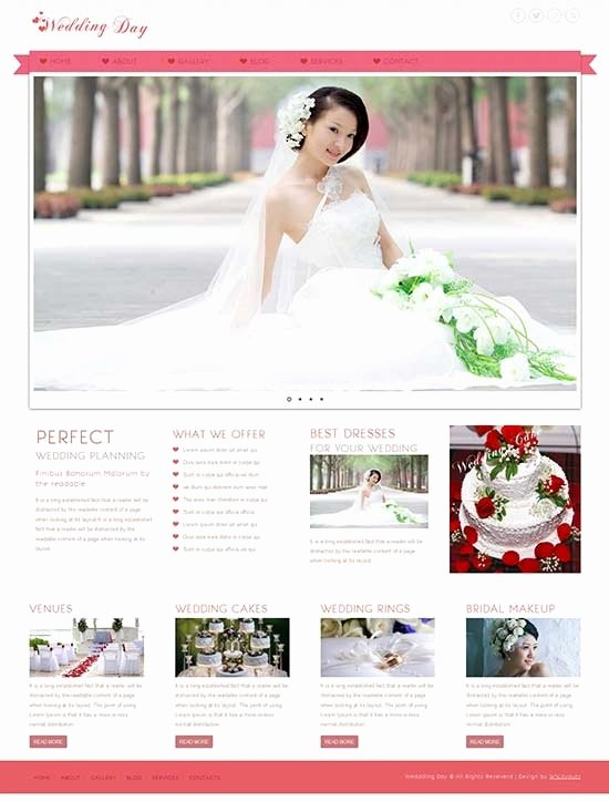 Wedding Web Template Free Inspirational Wedding Website Templates Beepmunk