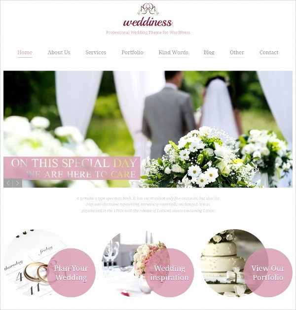Wedding Website Template Free Best Of 39 Wedding Website themes & Templates
