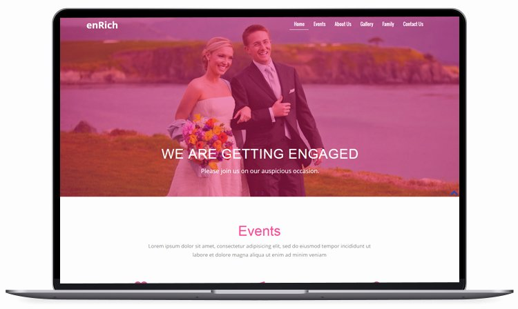 Wedding Website Template Free Fresh 100 Free Bootstrap HTML5 Templates for Responsive Website