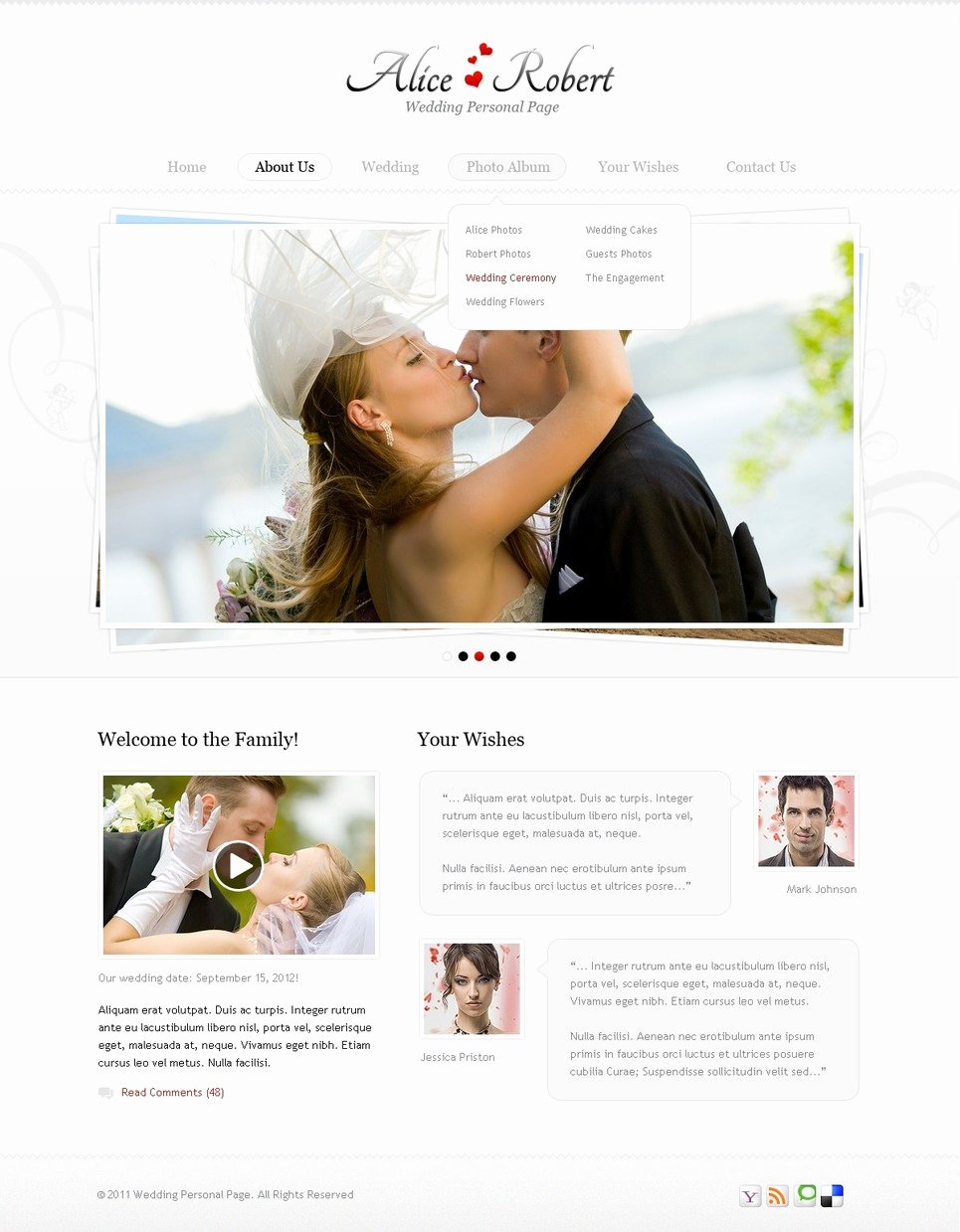 Wedding Website Template Free Fresh Wedding Website Template