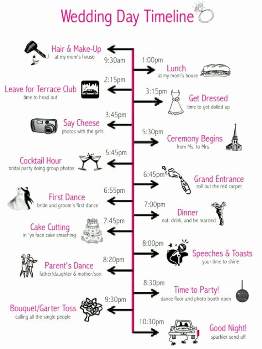 Wedding Weekend Timeline Template Fresh Wedding Prep Julie Hanan Design