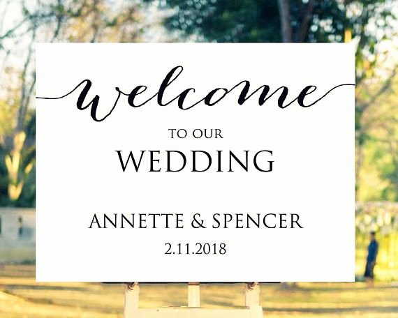 Wedding Welcome Sign Template Awesome 183 Best Wedding Sign Templates Images On Pinterest