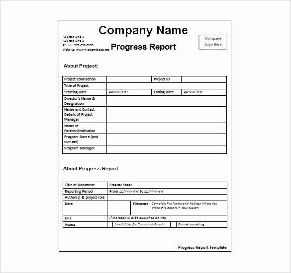 Weekly Activities Report Template Elegant Weekly Activity Report Template 30 Free Word Excel