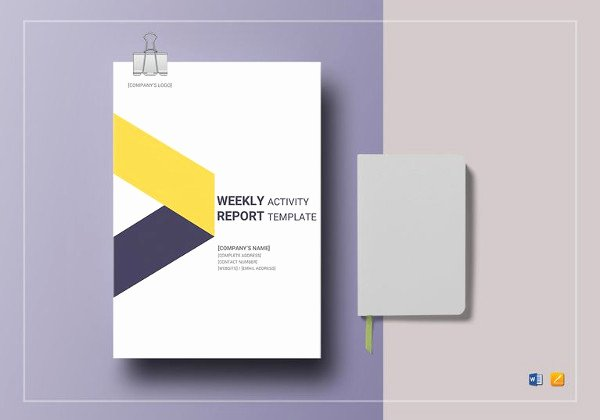 Weekly Activities Report Template Inspirational 16 School Report Templates Pdf Doc Word Pages