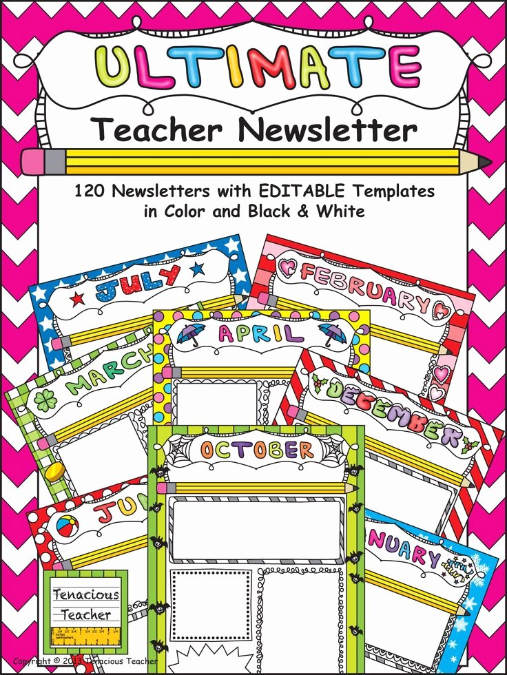 Weekly Classroom Newsletter Template Beautiful Best 20 Teacher Newsletter Templates Ideas On Pinterest