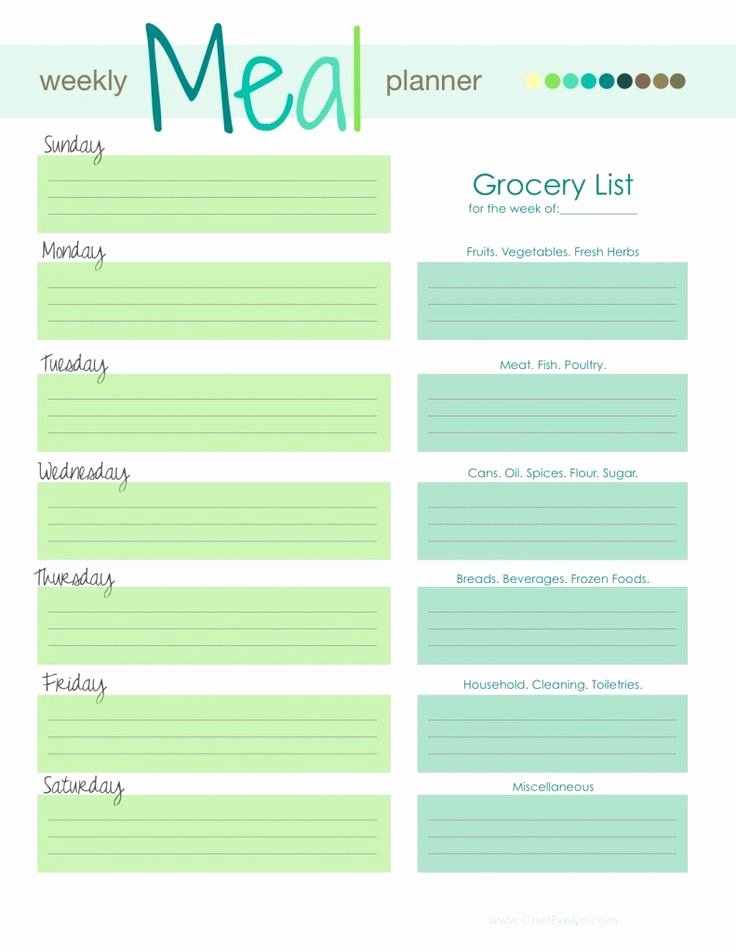 Weekly Dinner Menu Template Luxury Best 25 Meal Planning Templates Ideas On Pinterest