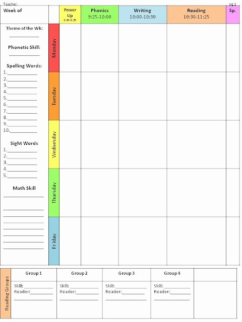 Weekly Lesson Plan Template Best Of Best 10 Lesson Plan Templates Ideas On Pinterest