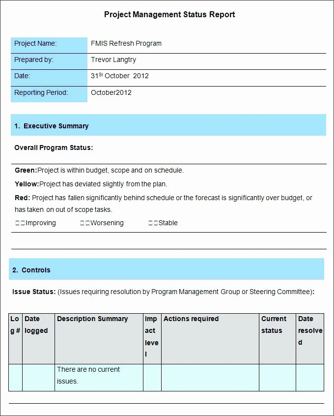 Weekly Management Report Template Luxury Senior Manager Resume Report to Management Template Pr