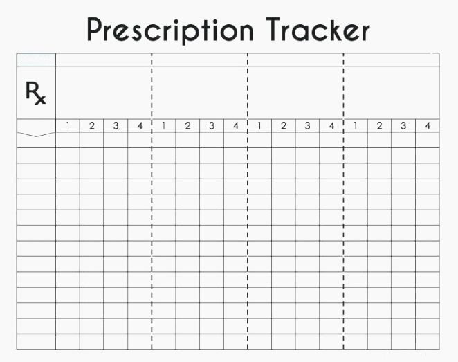 Weekly Medication Schedule Template Unique top Luscious Free Printable Daily Medication Log