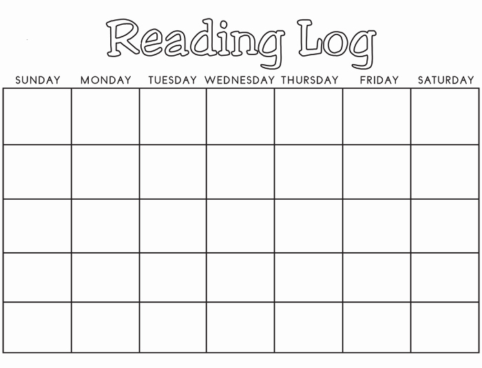 Weekly Reading Log Template Luxury 8 Reading Log Templates to Keep Your Reading Logs