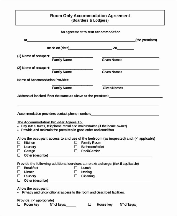 Weekly Rental Agreement Template New 42 Simple Rental Agreement Templates Pdf Word