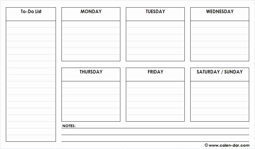 Weekly Schedule Template Pdf Beautiful Check Out Latest Free Printable Weekly Schedule Planner