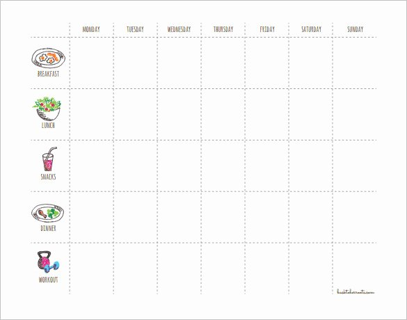 Weekly Workout Schedule Template Fresh 22 Workout Schedule Templates Pdf Doc