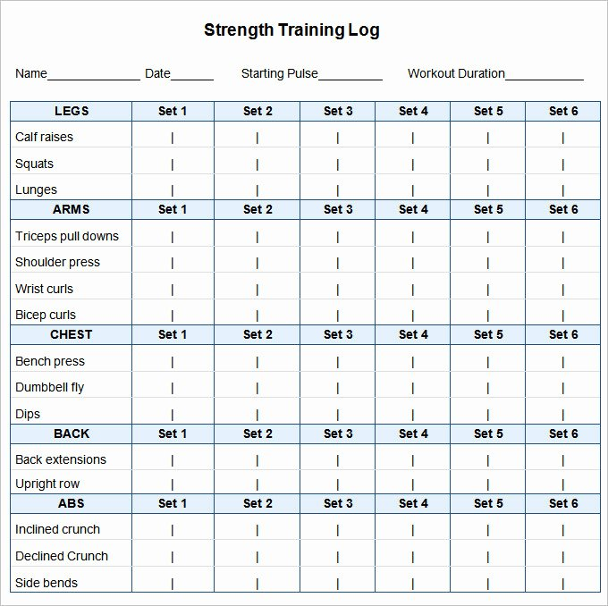 Weekly Workout Schedule Template Luxury Weekly Workout Timetable Template