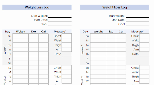 Weight Loss Calendar Template Inspirational Weight Loss Challenge Spreadsheet Template Excel