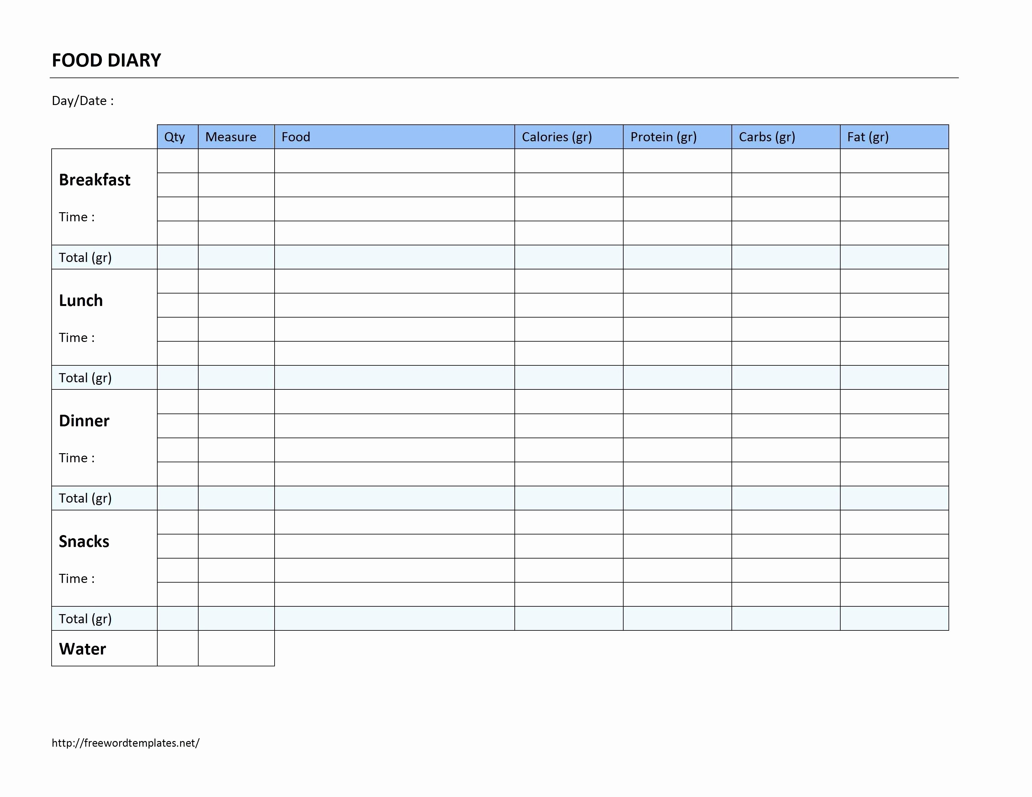 Weight Loss Spreadsheet Template Elegant Free Weight Loss Tracker Spreadsheet