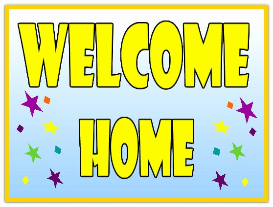 Welcome Back Banner Template Elegant 25 Of Wel E Home Printable Template